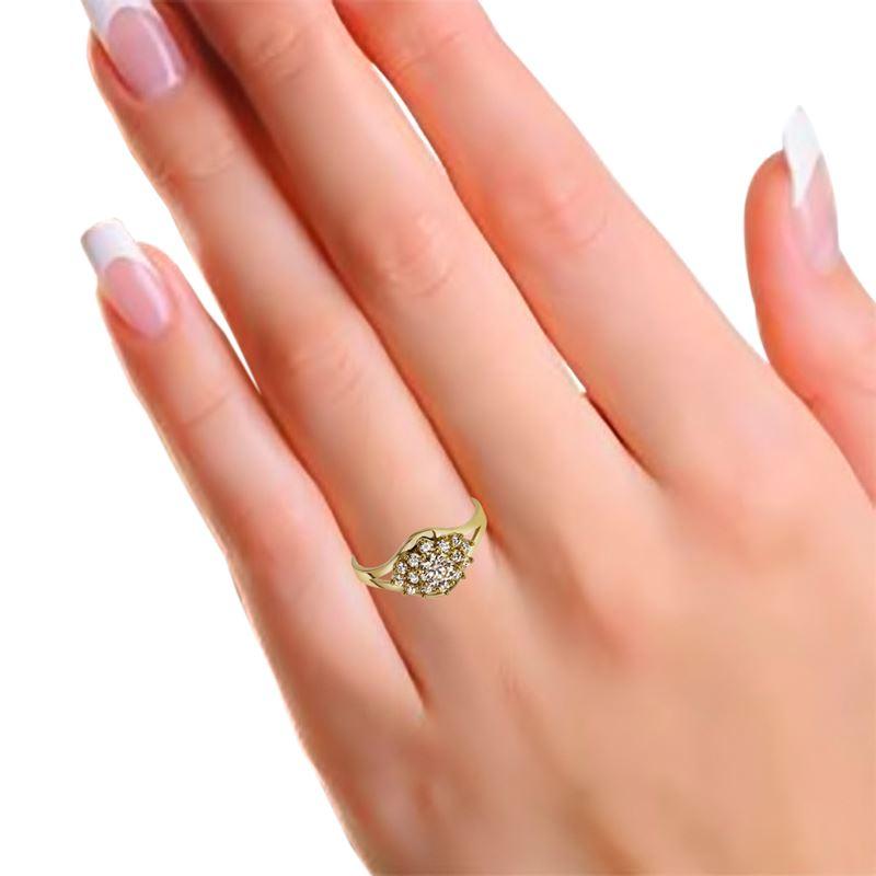 Gelbgoldener Ring mit Zirkonia__1005991__1