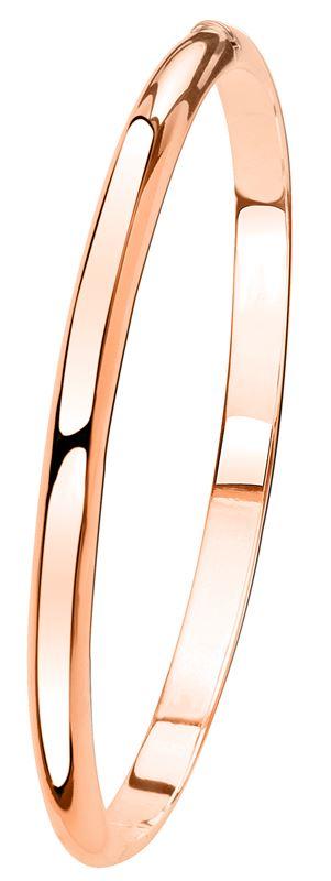 Zilveren armband bangle roseplated__1041386__0