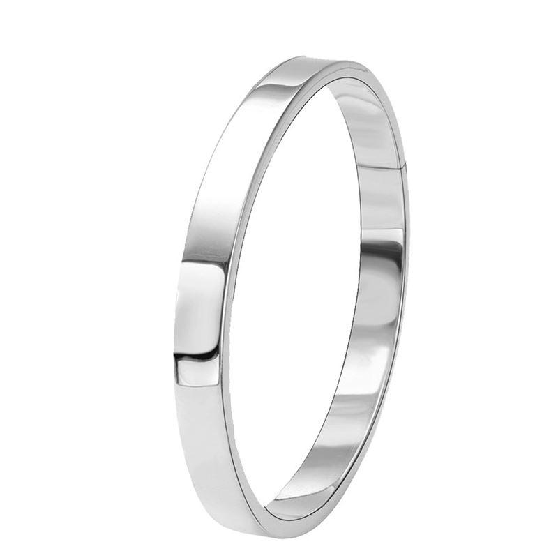 Zilveren armband bangle vlak__1013253__0