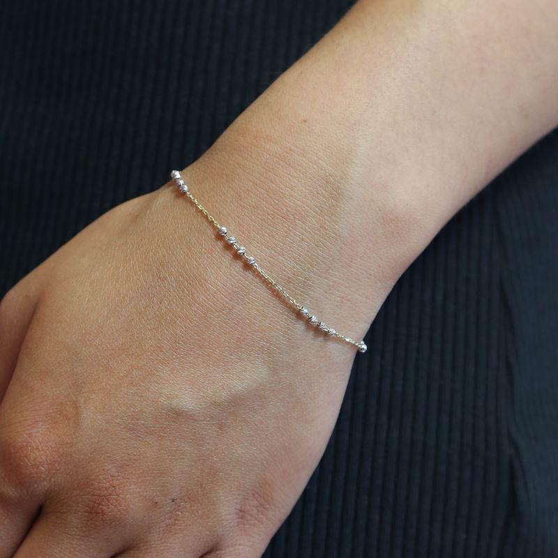 14Karaat geelgouden armband bolletjes__1053412__1